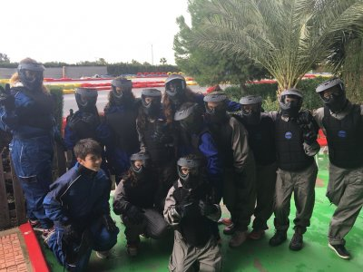 Paintball Game in Murcia 100 Balls
