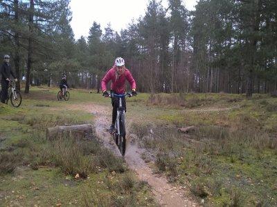 One day of Mountain biking in Dorset