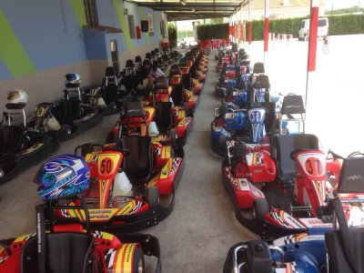 Team Building Karting and Paintball in Murcia