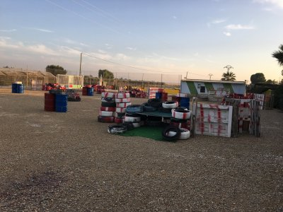 Paintball Match for Families in Murcia