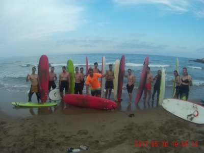 Surf House camp for weekends in Mazarrón