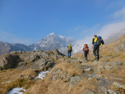 Mountaineering day at Snowdonia