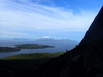 Traverse in Cuillin for 3 days
