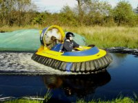 Hovercrafting is great fun.