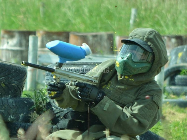 Paintball in Blackpool