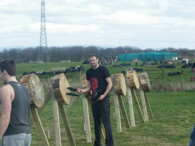 Axe Throwing in Blackpool 1 hour