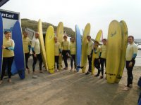 Full day Surfing in Haley for groups