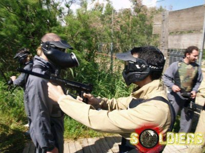 Paintball Soldiers