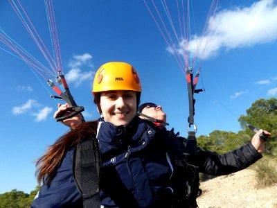 30-Minute Tandem Paragliding Alhama, Murcia