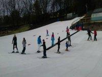 Dry skiing in Ski Rossendale