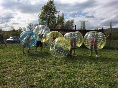 Paintball match + bubble soccer, Huesca, 2h