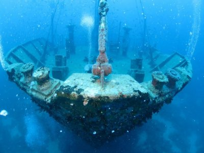Wreck Diver PADI course in Kent