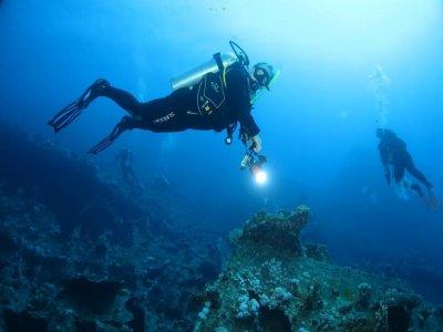 Deep diver course in Kent