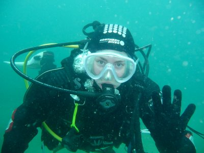 Dry Suit PADI Course in Holborough Lakes 2 days