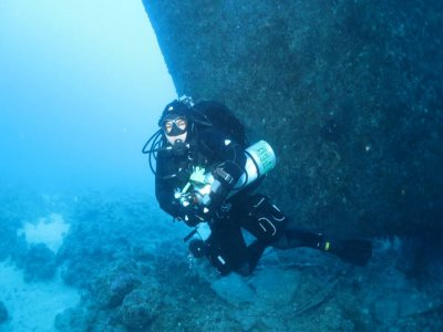 Objects hunt Diving course in Kent