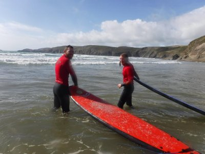 Full Day of Surfing in Pembrokeshire