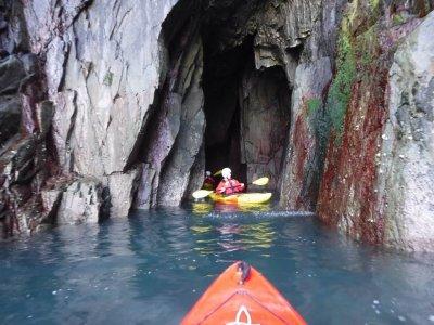 Kayaking Intermediate level in Pembrokeshire