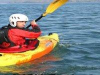 Solo paddling