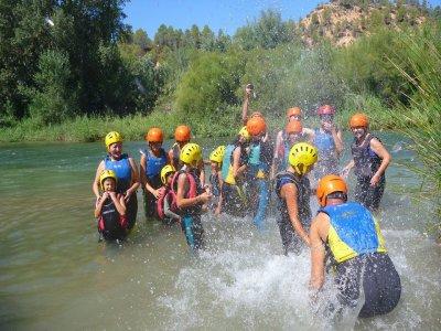 End-of-school camp in Las Hoces del Cabriel