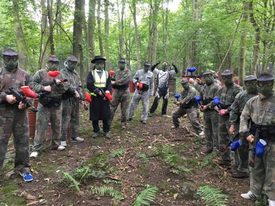 Paintball in Leeds 100 balls