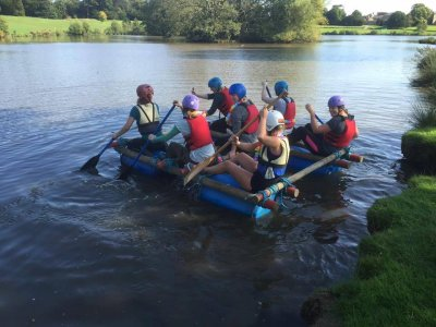 Raft Building in Harrogate