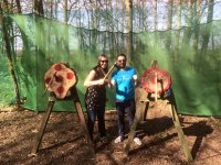 Axe throwing in Yorkshire 1 hour