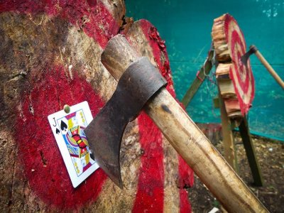 Axe throwing for kids in Yorkshire