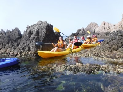 Kayaking and Canyoning Stag/Hen Do Cabo De Gata 7h