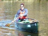 Quite canoeing