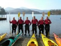 Paddlers and their paddles