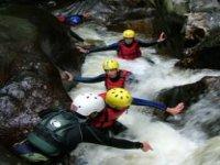 Exhilarating canyoning