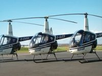 Helicopters ready for flight