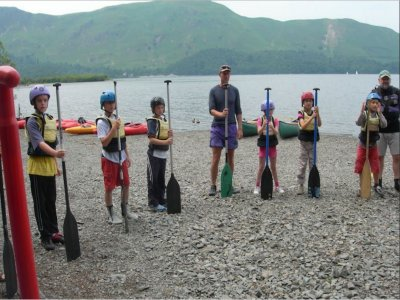 Canoeing for children in North Yorkshire