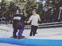 Lessons for everyone at The Dry slopes in Snowtrax Snowboarding