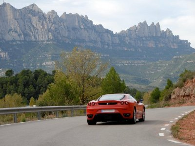 Drive a Sports Car in Barcelona, 20 km & SPA for 2
