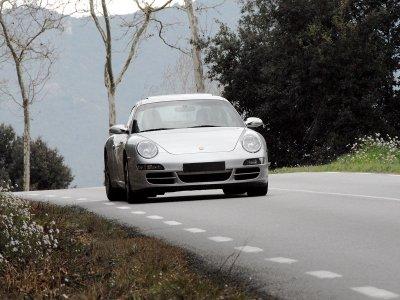 11km Sports Car Drive + Video & Spa in Barcelona