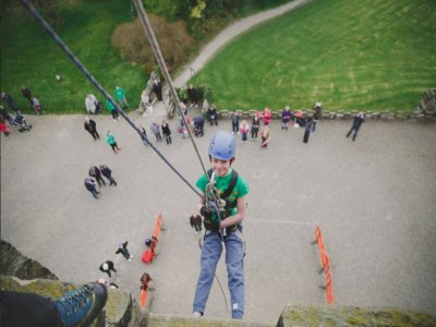 Abseiling for kids in North Yorkshire