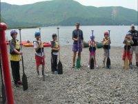 Kayaking for children in North Yorkshire