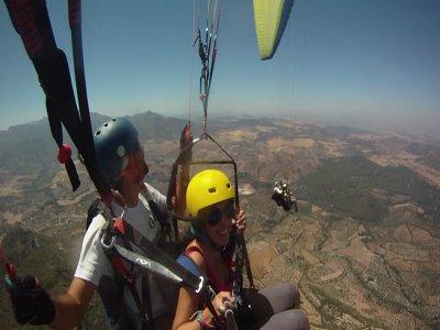 Paragliding for couples Valle de Abdalajís