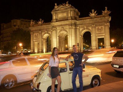 Night Trip In a Seat 600 In Madrid 1 Hour