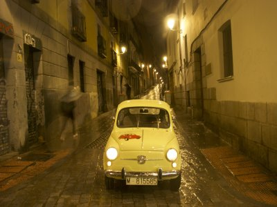 Route on Seat600, historic executions/Madrid
