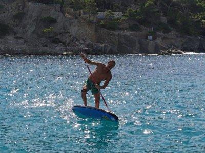 Paddle surf equipment rental in Santa Ponsa