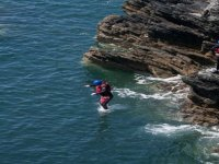 Exhilarating cliff jumping