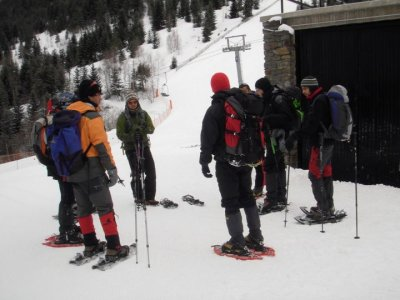 Let´s go The Adventure Company Raquetas de Nieve