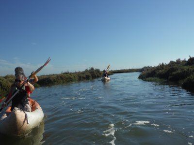 Kayaking trip Isla Cristina