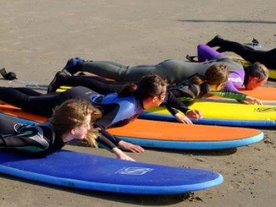 Beginner Surf Lessons Borth
