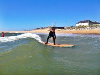 Beginner Surfer