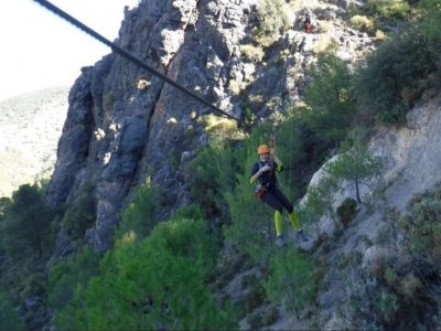 Two-night accommodation+puenting, Almería