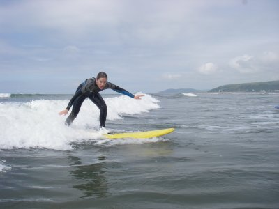 1 to 1 Beginner Surf Lessons Borth
