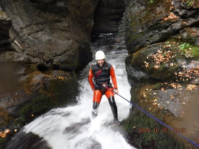 Canyon course + accommodation in Palencia